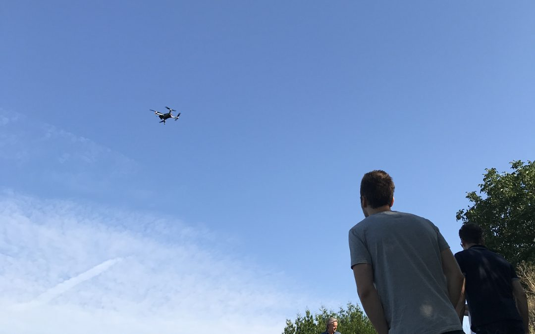 Kleines Shooting Drohnenfilm
